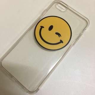 Soft case smiley emoji  6splus/6plus