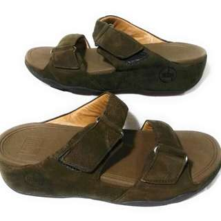 Fitflop Sandals Buckle Strap - Brown