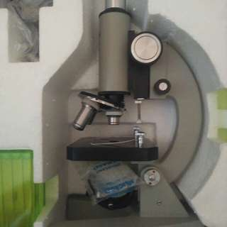 Microscope (w/ light projection system) free shipping