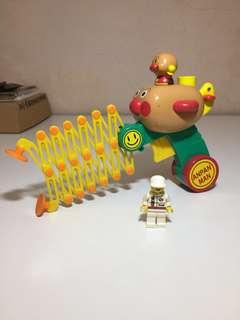Vintage Anpanman Toy Figure Figurine