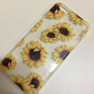 Sunflower soft case 6splus/6plus