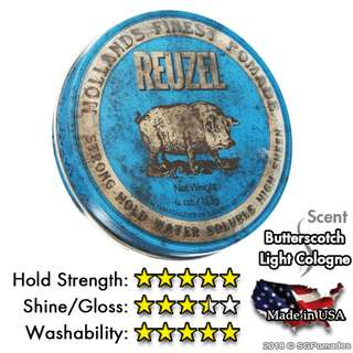 (Free mail) Reuzel Blue Pomade (Stronger Hold)