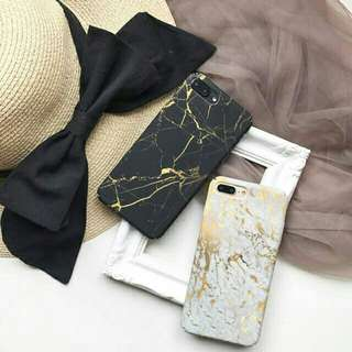 Case marble gold crack