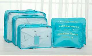 Travel storage bag (6 pcs)