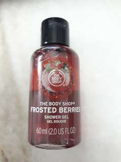 The Body Shop Shower Gel - Frosted Berries