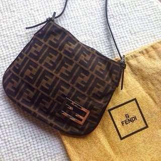 Vintage Fendi Monogram Mini Handbag