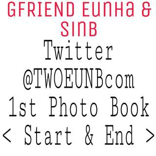 GFRIEND TWOEUNBcom Fansite Photo Book