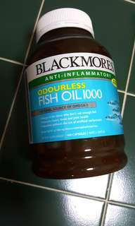 BN Blackmores Fish Oil 400caps