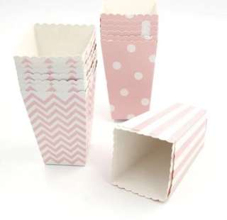 Pink popcorn box - mix pattern (Jurong)