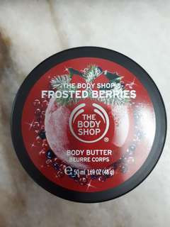 The Body Shop Body Butter - Frosted Berries
