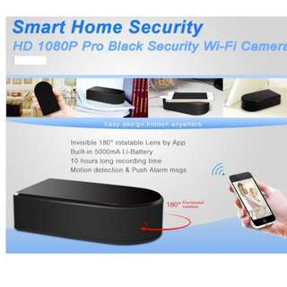 Spy Camera Wifi Box With inner Rotating lens