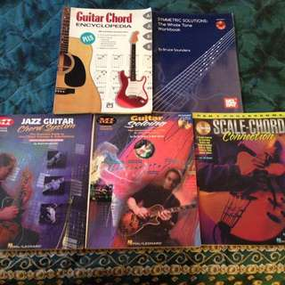 GUITAR BOOKS FOR SALE!!!