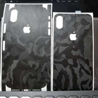 100% New dbrand skins for iPhone X (Camo Black)