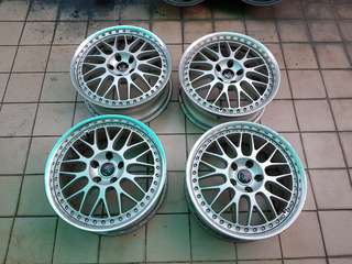 "18"" Work VS XX japan 2 piece rim"