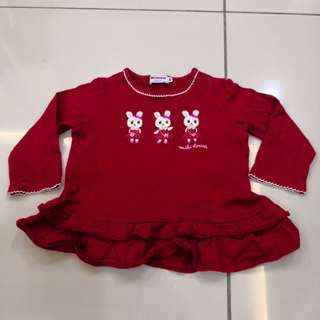 Miki House Shirt (12-18m)
