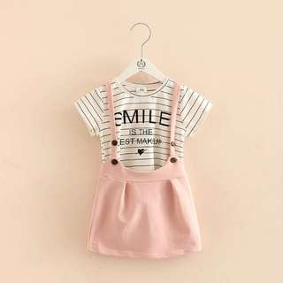 Kids fashion girl 2 piece set