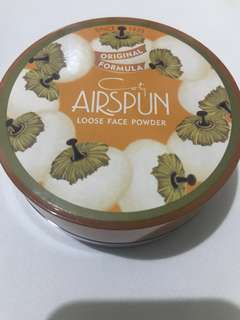 Preloved Coty Airspun Loose Face Powder
