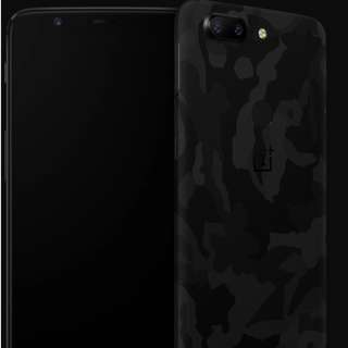 100% New dbrand skins for OnePlus 5T (Camo Black)