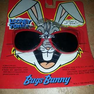 Sunglasses Bugs Bunny Looney Tunes Eye Spy 1990