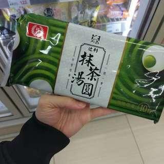 台灣代購-抹茶湯丸