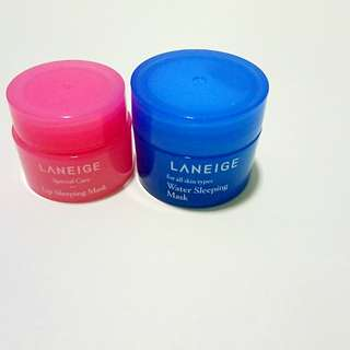 Laneige Sleeping & Lip mask (Set)