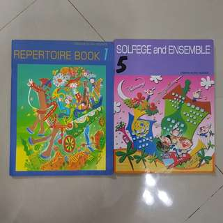Music course books-JNC 1