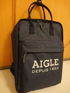 日版 Aigle Backpack 背包 Navy apc bathing ape head porter