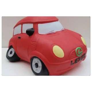 BNIB Lexus coin bank (plaster car/plaster doll)