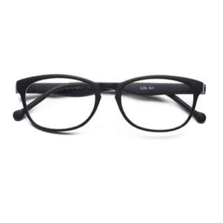 LifeArt Blue Light Blocking Glasses with Transparent Lens,UV400,Better Sleep&Alleviate Eye Strain for Gaming Eyewear&Digital Screen Reading Glasses(+1.00X),Unisex