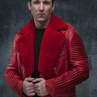 Men leather jackets from pakistan