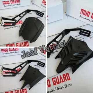 Xabre mudguard new model