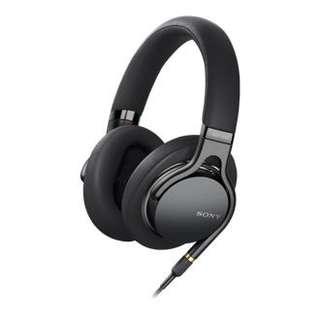 全新 SONY 1A M2 高音質 Hi-Res 耳機 黑銀2色 配有 4.4mm 平衡線 重Bass