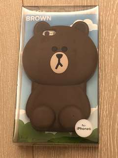 LINE Friends - BROWN iPhone 6 機殼