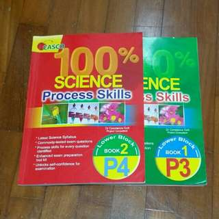 P3&P4 Science process skills (free with purchase)