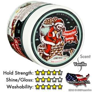 (Free mail) Suavecito Firme (Strong) Hold Pomade - Winter Edition