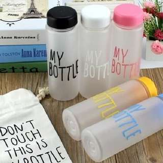 My bottle doff + pouch / infused water