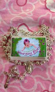 Giveaway Rosary for Christening
