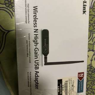 Wireless N high gain USB adapter