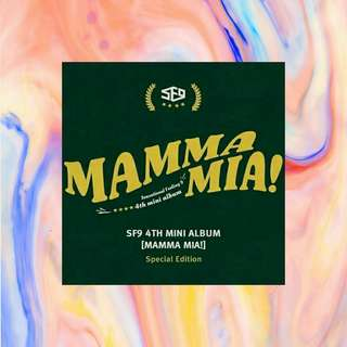 SF9 (에스에프나인) - Mamma Mia !(4th Mini Album) (Special Edition)