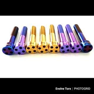 🔩M10 Titanium Caliper Security Bolt