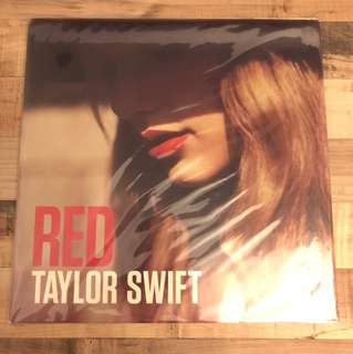 Taylor Swift Red US vinyl LP