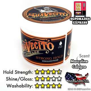 (Free mail) Suavecito Strong Hold a.k.a Firme Hold Pomade
