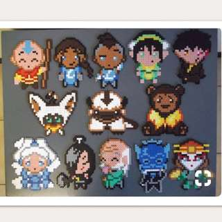 Avatar The Last AirBender Set Hama Designs