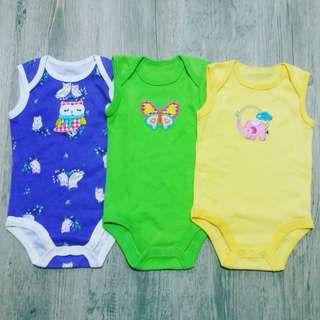 Baby Rompers Set - Girls (0 - 6M)