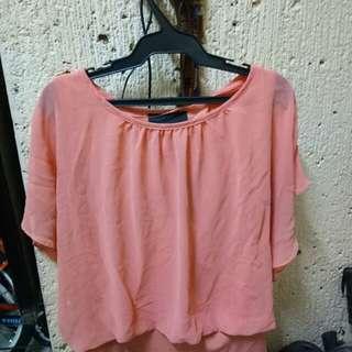 Peach Cute Top (Corporate attire)