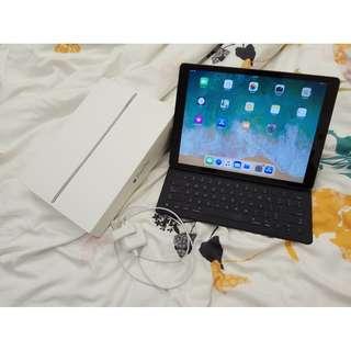 iPad Pro 12.9 WIFI 4G LTE 128GB 太空灰 連smart keyboard