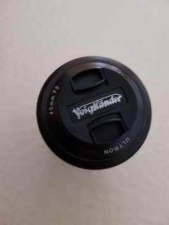 Voigtlander Ultron 40mm f/2 SL Aspherical