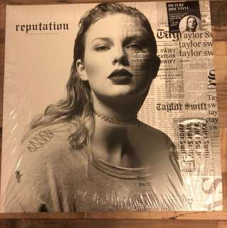 Taylor Swift Reputation US double picture vinyl LP