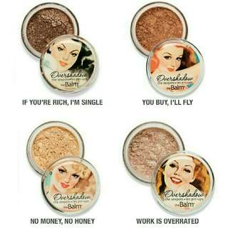 The Balm Overshadow Shimmering All Mineral Eyeahadow