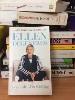 Seriously...I'm kidding by Ellen degeneres (postage included)